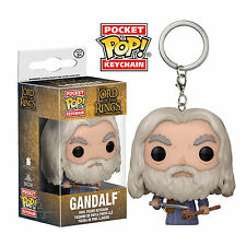 Funko Lord Of The Rings Pocket POP Gandalf Figure Keychain NEW Toys