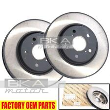 43512-30310 Lexus 06-16 IS250/350 Genuine OEM Front Brake Rotor Disc Pair Set
