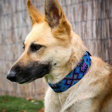 Hand-made Dog Collar Aztec Mayan - Kaan Pet Products Mexican tribal design
