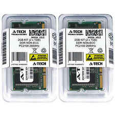 Atech 2GB Kit Lot 2x 1GB DDR Laptop PC2100 2100 266 266mhz 200-pin Memory Ram