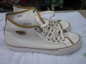 PF Flyer Hi top shoes leather size adult  posture foundation size 9.5