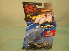Speed Racer Hot Wheels Musha Motors with spear hooks Movie Accessory includedd!