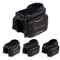 Bicycle Front Beam Bag Waterproof Mountain Bike Saddle Bag Phone Case Pouch