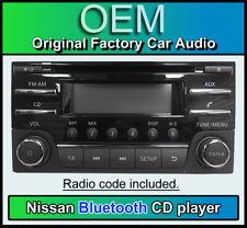 Nissan 281853HN4B, Nissan CD player Bluetooth stereo, AGC-03220YF-B + radio code