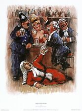"Barry Leighton-Jones ""Bar Association"" JUDGE barrister! SIZE:25cm x 34cm  RARE"