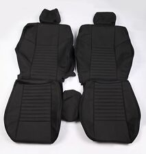 Custom Made 2008-presentDodge Challenger Real leather seat covers Front And Rear
