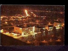 CA - FRESNO AT NIGHT - CIRCA 1960'S.