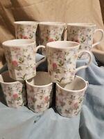Corona Fine China Coffee mugs, set of 8 Andrea by Sadek