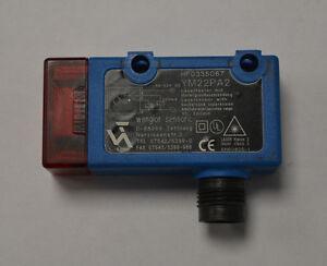 Wenglor YM22PA2 Lasertaster mit Hintergrundausblendung Lasersensor