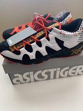 NEW Asics Tiger Gel-Mai Black/Orange/White Running Tennis Shoes Men's Size 9 1/2