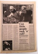 More details for genesis 'can little people rock' 1976  live review' uk article / clipping