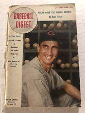 1948 Baseball Digest CINCINNATI Reds HANK SAUER Boston Red Sox ALL TIME TEAM