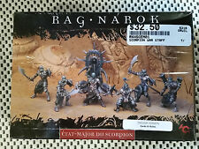 Rackham Confrontation - Ragnarok - SCORPION WAR-STAFF  (6 minis/cards)   NEW OOP