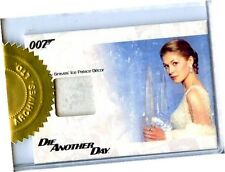 "James Bond 50th Ann Series 1 JBR27 ""Ice Palace Decor"" Relic Card 252/375 3-Case"