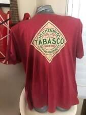 TABASCO HOT SAUCE 2XL MENS T-SHIRT LOOK. DOUBLE XL