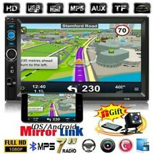 "7""  2 DIN Autoradio Bluetooth MP5 Stéréo FM USB IOS/Android Mirror Link + Caméra"