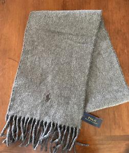 Polo Wool Scarf NWT