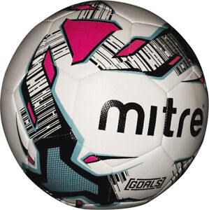 Mitre Astro Football White Size 5 Durable Recreational Training Ball