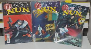 ANTARCTIC PRESS COMICS THE CRIMSON NUN 1997 90S COMICS!