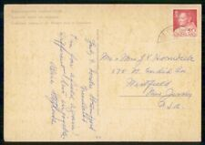 Mayfairstamps Greenland Commercial Postcard To Wirtfield Nj Usa wwk39743