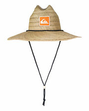 NEW QUIKSILVER™  Mens Waterman Top Tier Straw Lifeguard Hat Headwear