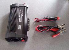 CONVERTIDOR INVERSOR ONDA MODIFICADA 500W DE 12V DC A 220V AC 1000W DE PICO