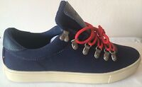 Tommy Hilfiger Manchester Sneakers Dark Blue Fabric Size 10 New