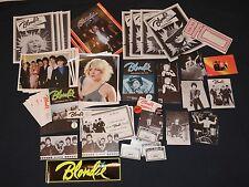 Official Blondie Fan Club Lot 80 Items 1979 Debbie Harry Collectors pack Deborah