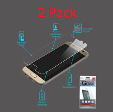 Samsung Galaxy S7 High Quality Premium Tempered Glass Screen Protector - 2 Pack
