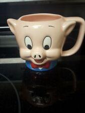 1989 Applause Warner Bros. Porky Pig Looney Tunes Coffee Mug