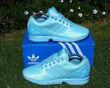 bac4e116d BNWB   Genuine Adidas Originals ® ZX Flux Blush Blue Torsion Trainers UK  Size 5