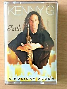 KENNY G A Holiday Album PHILIPPINES Paper Label Cassette Tape