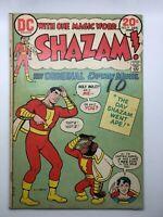 SHAZAM #9 1974 DC COMIC BOOK BRONZE AGE WORMS OF THE WORLD UNITE!