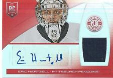 2013-14 Panini Totally Certified ERIC HARTZELL #180 Rookie Jersey Autograph #/25