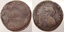 BAIOCCHI DUE E MEZZO 179? PIO VI 1775-1799 VITERBO RARO RARE #3