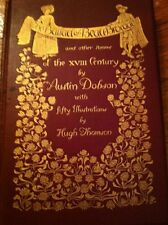 Antique 18th Century Poems Of Austin Dobson Book Illustrated Beautiful Cover