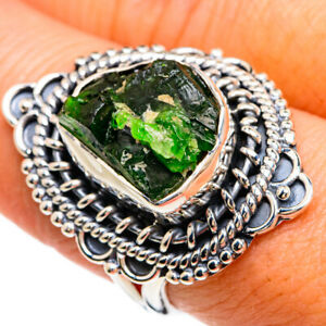 Chrome Diopside 925 Sterling Silver Ring Size 8.5 Ana Co Jewelry R80467F