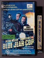 Blue Jean Cop - Peter Weller Sam Elliot 1989 Vintage VHS