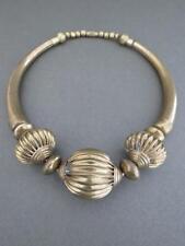 Vintage Danish Modernist Brass Choker Necklace