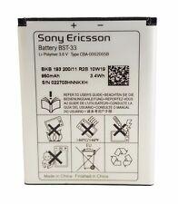 ORIGINALE Sony Ericsson Batteria bst-33 Aino Satio Spiro c901 k800i k810i w880i w890i