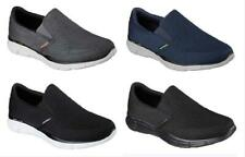 SKECHERS Men's Memory Foam Slip On Shoes, Medium D and Extra Wide 3E, 4 Colors