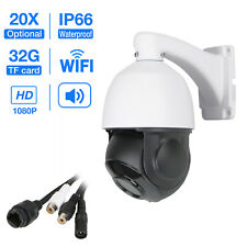 20X HD 1080P Optical Zoom CCTV PTZ IP Wifi Camera Outdoor Tilt Onvif IR SD Card