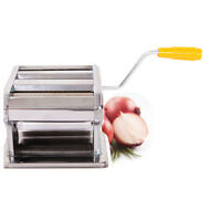 "NEW Maker Roller Machine 6"" Dough Making Fresh Noodle Maker Stainless Steel US"