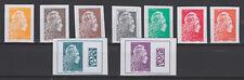 France 2018 Marianne l'Engagée Salon d'Automne série 9 timbres non dentelé