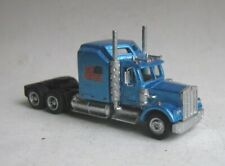 TT scale (1:120) model of the American truck Kenworth W-900L.,sleeper cab