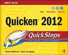 QuickSteps: Quicken 2012 by Bobbi Sandberg and Martin Matthews (2011, Paperback)