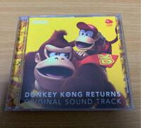 Donkey Kong Returns Original Sound Track CD CLUB NINTENDO Limited import japan