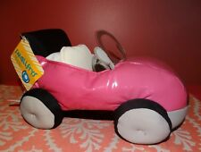 New BUILD A BEAR Pink Smallfrys  Convertible Car NWT