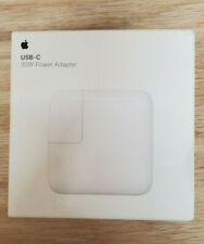 APPLE 30W USB-C Power Adapter/Fast Charger MacBook