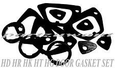 HOLDEN DOOR HANDLE GASKET RUBBER SET for HD HR HG HK HT HR NEW  11pcs